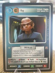 Star Trek CCG 1E - Nog - Rare Card (68 R+) Rules of Acquisition (RoA)