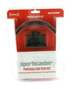XM Portable Battery Kit Sport caster Portable Battery Kit Headset USA Seller