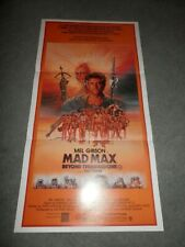 Mad Max Beyond the Thunderdome Original Poster Insert Daybill Day Bill Vintage