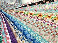 10/20 yards Flower Spring Floral Mix Design Grosgrain Ribbon USA Seller