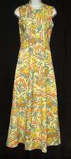 1960'S-70'S VINTAGE MAXI DRESS  BOHO CHIC ORIGINAL