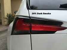 PreCut Smoke Tint Overlays for 2015 2016 2017 NX 200t NX 300h Tail Light Signals
