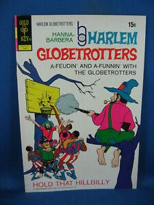 THE HARLEM GLOBETROTTERS 2 VF NM GOLD KEY 1972