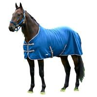 Finn-Tack Cuddle Fleece Cooler Blanket with Fleece Withers and Cross Surcingle