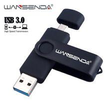 16GB 32GB 64GB 2 in 1 OTG USB 3.0 Dual Drive USB Flash Pen External Drive Speed