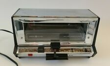 Vintage GE General Electric T93 Toast-R-Oven Deluxe Toaster Oven Chrome MCM