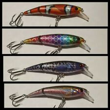 Jointed Jerkbait Minnow Lures (4 pack)