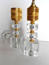 GORGEOUS HOLLYWOOD REGENCY DRAPER GOLD LIGHTER & TALL CIGARETTE HOLDER
