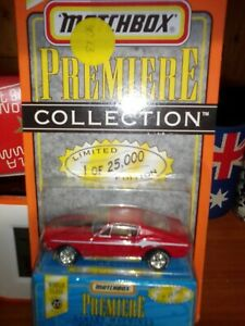 Matchbox collection 1968 Mustang cobra jet. Ltd Ed. 1 of 25,000