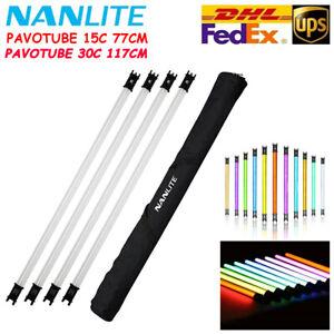 Nanlite PavoTube 15C/30C 2ft/ 4ft RGBW LED Tube Internal Battery 1/2/4 Light Kit