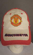 Manchester United Heavy Embroidery Adjustable Strapback Hat Cap