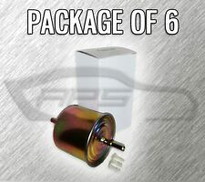 FUEL FILTER F65455 FOR FORD MERCURY LINCOLN - CASE OF 6 - OVER 500 VEHICLES