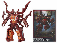 TRANSFORMERS GENERATIONS COMBINER WARS LEGENDS CLASS CHOP SHOP ACTION FIGURE