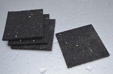 Antivibration Pads Gummipads Vibrationsdämpfer Unterlage Waschmaschine Trockner