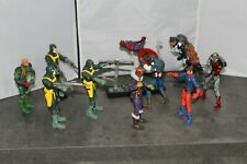 Marvel Legends Captain America, Nick Fury, Red Skull, Baron Von Strucker, Baron