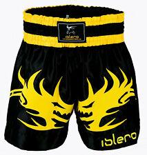 Islero Muay Thai Cage Fight Shorts Mma Kick Boxing Grappling Martial Arts Ufc