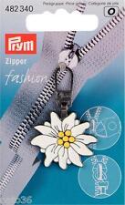 1 Fashion Zipper Nr. 482340 Alpen Edelweiss Reißverschluß  Prym jacke