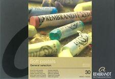 REMBRANDT - ARTISTS SOFT PASTELS - 30 FULL LENGTH - GENERAL SELECTION