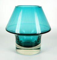 Lasi Oy Riihimaen Design Glass Vase STROMBOLI Aimo Okkolin Design Riihimaki
