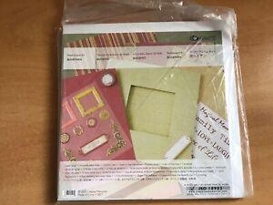Creative Memories Paper Album Kit.  Bohemian
