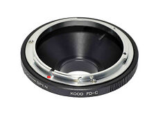 C mount to Canon FD Lens adapter