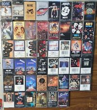 $3.95 to 20.00 CASSETTE TAPES 80's 90's Metal Hair Bands KISS Judas Priest AC/DC