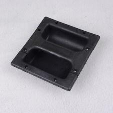 2x Black PP plastic recessed handle for guitar amp cabinet speaker 146*139mmHGUK