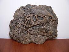 Dinosaur skull replica Dilophosaurus (shellac)