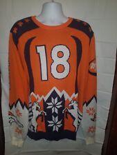Peyton Manning Denver Broncos NFL Team Apparel Sweater Preowned XXL MEN'S 2XL