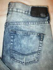 Bullhead Dillon Skinny Mens Blue Jeans Size 28 x 30  Denim New
