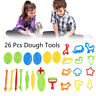 26X Dough Tools Play Set Modelling Doh Clay Craft Rolling Pins Cookie Cutters G