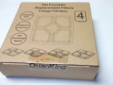 Orienking Replacement Filters for 84oz 2.5L Automatic Pet Fountain Cat Water