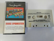 BRUCE SPRINGSTEEN GREETINGS FROM ASBURY PARK NY 1973 CBS CASSETTE TAPE CINTA