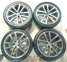 "4x VW GOLF MK5 MK6 CHARLESTON 18"" INCH 1K0601025AG ALLOY WHEEL WITH Free Tyres"