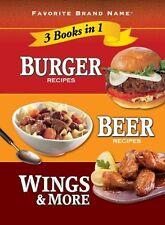 Burger Recipes, Beer Recipes, Wings & More (Favori