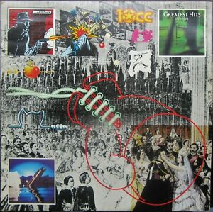 10cc GREATEST HITS 1972-1978 LP Inner Sleeve UK Mercury 1979 Excellent