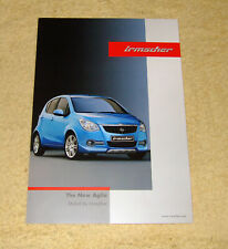 Vauxhall-Opel Irmscher Agila B, two sided brochure, February 2008