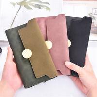 PT_ LC_ Opaca pieghevole in tre donna lungo portafogli portamonete porta carte