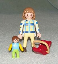 Playmobil Modern Yummy Mummy With Baby In Carseat HOUSE/CITY/HOTEL COMPLETE VGC