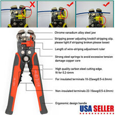 5 In 1 8 Automatic Wire Cable Striper Cutter Stripping Pliers Terminal Tool Us