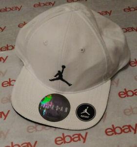 New JORDAN Jumpman Infant Snapback Cap Hat 100% Cotton Black/White Unisex