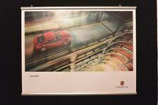 """3 Porsche Poster """"Cayman GTS"""" mit Posterschienen"""
