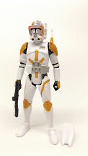 Star Wars Saga Legends SL12 Clone Commander Cody Phase 2 II CW Loose Complete