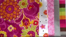 "Fat Quarter Bundle - Pink Power Play - 5 pieces 20"" x 22"""