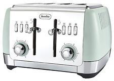 Breville Strata VTT768 1650W 4 Slice Toaster Variable Width Control Matt Green