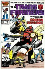 Transformers (1984) #19 NM- 9.2