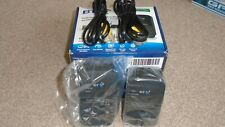BT Broadband Extender Flex 500  Adapters + 2 x Ethernet Cable