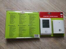 Thermostat d'ambiance sans fil EQUATION Confort crono radio