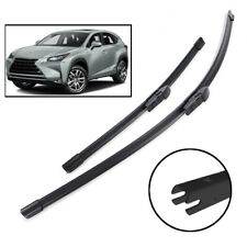 Pair of Front Windscreen Wiper Blades For Lexus NX NX200t NX300h NX200 2014-2019
