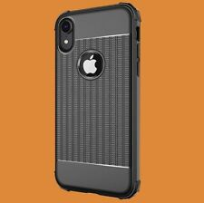 iPhone Xr Hoesje Cube Cover Zwart Premium Shockproof Case Cases Hoesjes